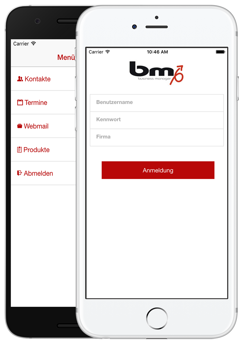 crm bm app solution software