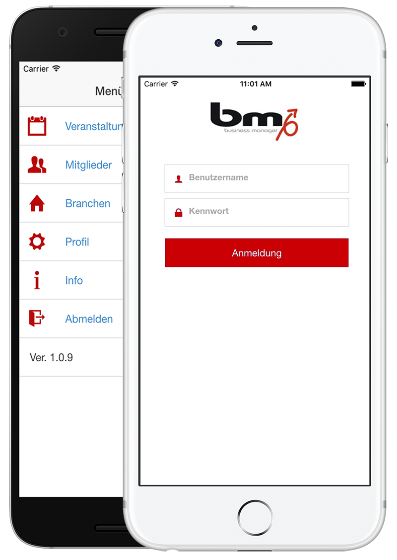 crm bm-events app software